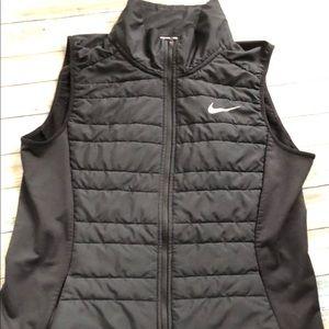 Nike Form-Fitted Black Vest